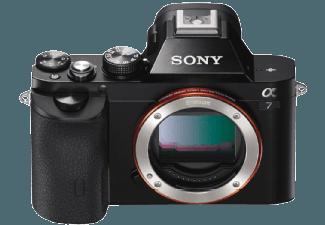 Produktbild SONY Alpha 7 B.CE Gehäuse (ILCE-7) Kompaktkamera  24.3 Megapixel  Full HD  CMOS Sensor  Near Field