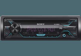 Produktbild SONY CDX-G3200UV  Autoradio  1 DIN  Ausgangsleistung/Kanal: 55