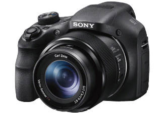 Produktbild SONY DSC-HX 300 Kompaktkamera  20.4 Megapixel  50x opt. Zoom  Full HD  CMOS Sensor  24-1200 mm
