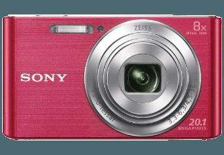 Produktbild SONY DSC-W830 P.CE3 Kompaktkamera  20.1 Megapixel  8x opt. Zoom  HD  Super-HAD-CCD Sensor  25-200