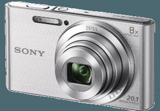 Produktbild SONY DSC-W830 S.CE3 Kompaktkamera  20.1 Megapixel  8x opt. Zoom  HD  Super-HAD-CCD Sensor  25-200