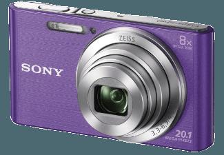 Produktbild SONY DSC-W830 V.CE3 Kompaktkamera  20.1 Megapixel  8x opt. Zoom  HD  Super-HAD-CCD Sensor  25-200