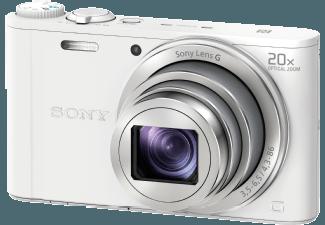 Produktbild SONY DSC-WX 350 W.CE3 Kompaktkamera  18.2 Megapixel  20x opt. Zoom  Full HD  Exmor R CMOS Sensor