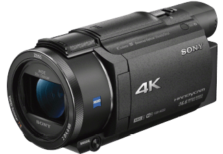 Produktbild SONY FDR-AX53  Camcorder  Exmor R CMOS Sensor  Carl Zeiss  20x opt. Zoom  Bildstabilisator  Near