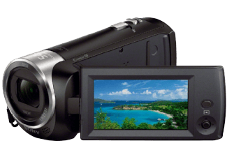 Produktbild SONY HDR-CX 240 EB  Camcorder  Exmor R CMOS Sensor  Carl Zeiss  27x opt. Zoom  SteadyShot
