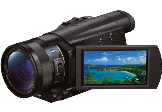 Produktbild SONY HDR-CX 900 EB  Camcorder  Exmor R Sensor  Carl Zeiss  12x opt. Zoom  Bildstabilisator  Near