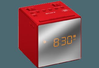 Produktbild SONY ICF-C1  Uhrenradio  Rot