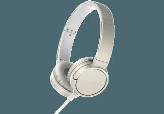 Produktbild SONY MDR-ZX660AP  On-ear Kopfhörer  Champagner