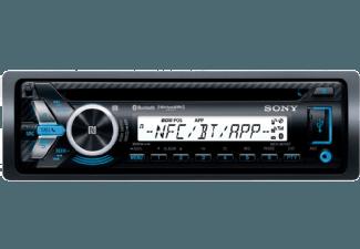 Produktbild SONY MEX-M70BT  Autoradio  1 DIN  Ausgangsleistung/Kanal: 55