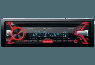 Produktbild SONY MEX-N5100BT  Autoradio  1 DIN  Ausgangsleistung/Kanal: 55