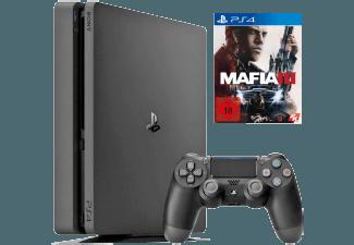 Produktbild SONY PlayStation 4 Konsole Slim 1TB + Mafia 3