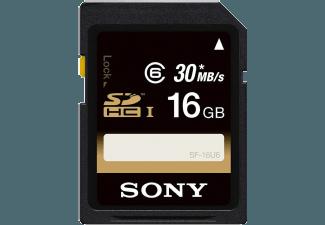 Produktbild SONY SF16U SD Speicherkarte  16 GB  90 Mbit/s  Class