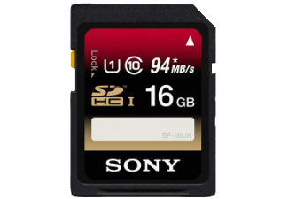 Produktbild SONY SF16UX SD Speicherkarte  16 GB  94 Mbit/s  Class