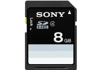 Produktbild SONY SF8N4 SD Speicherkarte  8 GB  15 Mbit/s  Class 4