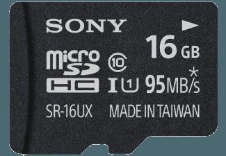 Produktbild SONY SR-16UX Micro-SDHC Speicherkarte  16 GB  95 MB/s  Class 10