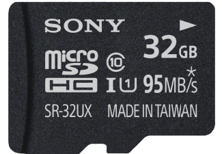 Produktbild SONY SR-32UX Micro-SDHC Speicherkarte  32 GB  95 MB/s  Class