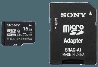 Produktbild SONY SR16UYA Micro-SDHC Speicherkarte  16 GB  70 MB/s  Class