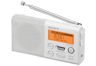 Produktbild SONY XDR-P1DBPW  DAB+ Radio  Weiß