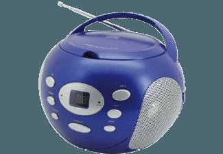 Produktbild SOUNDMASTER SCD2000BL  Radio-CD-Boombox  Blau