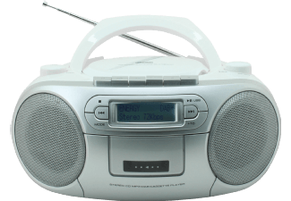 Produktbild SOUNDMASTER SCD7900WE  Boombox  Weiß/Silber