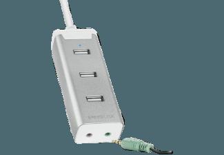 Produktbild SPEEDLINK BARRAS Supreme  USB-HUB mit integrierter Soundkarte