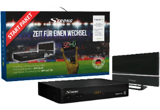 Produktbild STRONG SRT 8540 + ANT 30 DVB-T2 HD Receiver