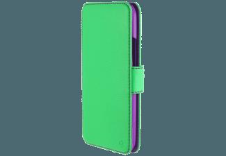 Produktbild TELILEO 3324 Touch Case  Bookcover  One M8  Polycarbonat; Polyurethan  Neon