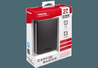 Produktbild TOSHIBA Canvio Basics  Externe Festplatte  2 TB  2.5