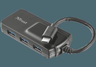 Produktbild TRUST 21319 Oila USB-C 4 Port USB 3.1 GEN.1  USB-Hub