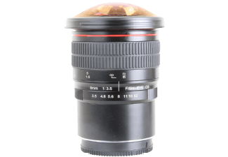 Produktbild VOKING VK8MM-3.5 N-1 8 mm-8 mm f/3.5  Fish-Eye  System: Nikon