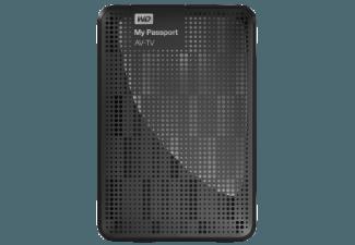 Produktbild WD My Passport� AV-TV � TV-Speicher 1 TB  Externe Festplatte  Schwarz