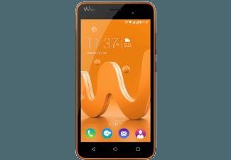 Produktbild WIKO Jerry  Smartphone  16 GB  5 Zoll  Hellorange