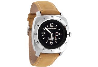 Produktbild XLYNE NARA XW PRO  Smart Watch  Leder  26 cm  Silber