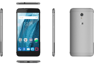 Produktbild ZTE Blade V7  Smartphone  16 GB  5 Zoll  Grau  LTE